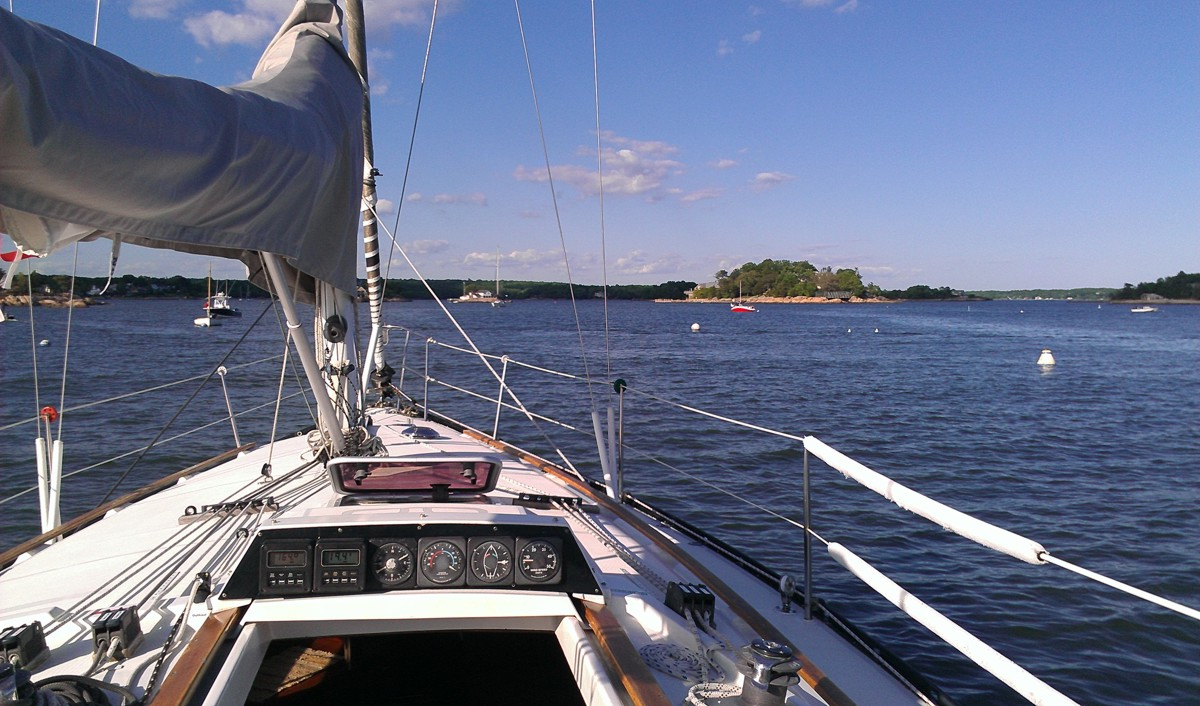 sail around the thimble islands